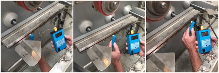 Check heat consistency with a pyrometer_Greenere Corp