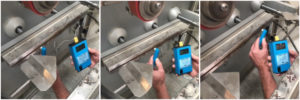 Check heat consistency with a pyrometer. Greener Corporation.